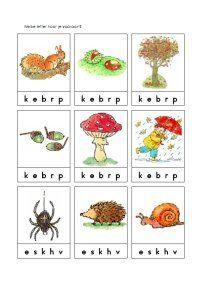 Hier vind je enkele leuke werkbladen rond het thema herfst. Autumn Day, Autumn Theme, Fall, Preschool Crafts, Crafts For Kids, Autumn Crafts, Pre School, Toddler Activities, Kindergarten