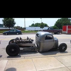 Diesel RATROD - Why?  Because you can, that's why.