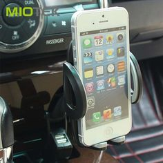 Universal 360 Degree Car Phone Holder Stand Double USB Mobile Charger for Iphone6 7s Samsung Galaxy GPS