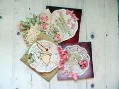 Babka ze stali...bo siła jest w nas. : Kartki ślubne - moje DIY, #1