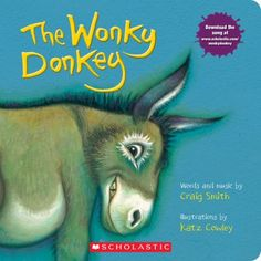 Cover image for The Wonky Donkey: A Board Book