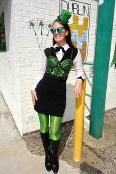Traveling Black Dress: St. Paddy's Day Edition on Houstoniamag