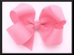 How To Make A Boutique Hair Bow (Updated Video/No Sewing) - YouTube