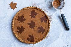 Dark Chocolate Pumpkin Tart http://msbelly.com/dark-chocolate-pumpkin-tart/
