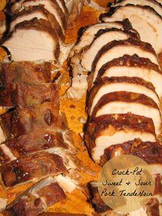 Crock-Pot Sweet and Sour Pork Tenderloin