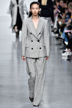 ON-TREND BSLLondon Loves ♥ the masculine suits of Teatum Jones Autumn/Winter 2017 Ready to Wear Collection