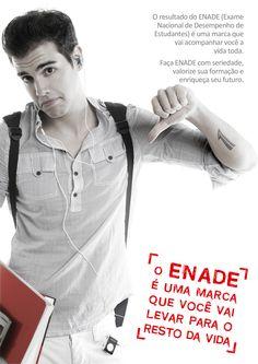 Cartaz 2 - Campanha ENADE (Univás)