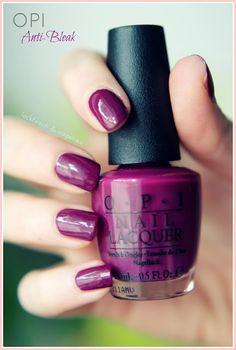 OPI - Anti-Bleak Perfect fall color <3