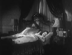 "publicdomaindiva: "" Yvonne de Carlo in ""Lamp of Memory"" (1944), a soundie or musical short (essentially an early music video). """