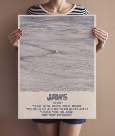 Jaws Movie Drawing Poster – Fubiz Media