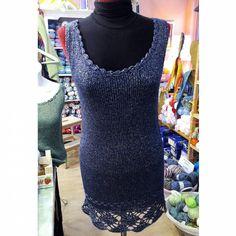Bon dia!!!! Que us sembla aquest vestit que ha fet l'Àngels???? Li ha quedat genial!!!///// Buenos días!!! Que os parece este vestido que se ha hecho Àngels????? Le ha quedado genial!!!!! #instagram #instaknit #instacrochet #crochet #botigallanesbadalona #botigatallersbadalona #badalona #badalonacomerç by elracodelalila