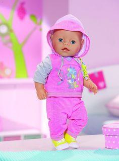 Zapf Creation Baby born Deluxe Joggin Set 819319 rosa  by Brand Toys in Spielzeug, Puppen & Zubehör, Babypuppen & Zubehör | eBay!