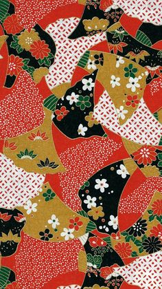 19 Traditional Japanese Kimono Patterns You Should Know – Japan Objects Store Motif Kimono, Kimono Pattern, Kimono Fabric, Japanese Textiles, Japanese Prints, Japanese Design, Japanese Paper, Japanese Fabric, Vintage Japanese