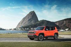 Jeep Renegade Trailhawk: versão topo de linha tem motor 2.0 turbodiesel, tração 4×4 e câmbio automático de nove marchas Foto: Rafael Bandeira / Exclusiva!BR