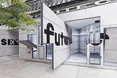 Storefront for Art and Architecture. Steven Holl and Vito Acconci. NYC.