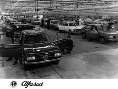 Alfasud assembled at Pomigliano d'Arco
