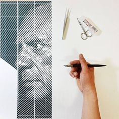 Hand-Carves (gravures) Photorealistic Portraits out of paper by Korean artist Yoo Hyun