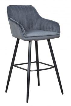 Barová stolička s opierkami sivá. Chair, Grey, Furniture, Home Decor, Gray, Decoration Home, Room Decor, Home Furnishings, Stool