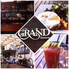 The Grand Tavern: This old house converted into a bar and restaurant has a huge selection of small plates and big plates. Home cooking with a craft touch with tons of outdoor seating. They make there own maraschino cherries and they are delish.