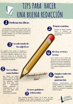 Book Writing Tips, Writing Skills, Writing Prompts, Life Hacks For School, School Study Tips, Spanish Lessons, Teaching Spanish, Study Techniques, School Notes
