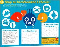 stop au harcèlement à l'école