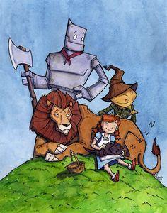 Wizard of Oz by CorinneRoberts on deviantART