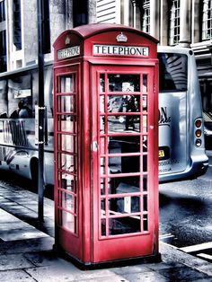 London, England London Phone Booth, London Telephone Booth, Places To Travel, The Places Youll Go, Places Around The World, Amsterdam Pays Bas, London Calling, British Isles, London England