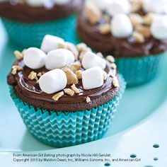 Smores Cupcakes Recipe by American Girl