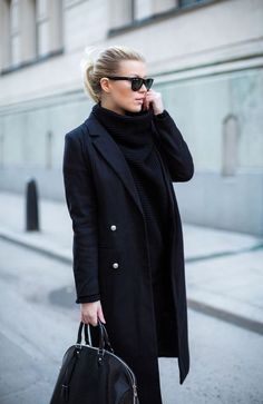 čierna kabelka black handbag fashion móda style štýl street modelka model  outfit ootd fall jeseň winter 594fe129dba