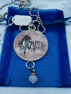 Gypsy should pendant necklace #gypsy found at https://www.etsy.com/listing/248956004/gypsy-soul-necklace-dome-pendant