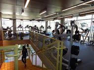 Huge fitness center. More pictures at www.Uptown101.com! #GalleryAtTurtleCreekApartments #UptownDallasApartments