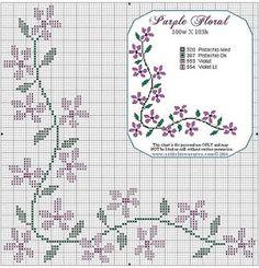 Margaridas em flor: novos esquemas de ponto de cruz