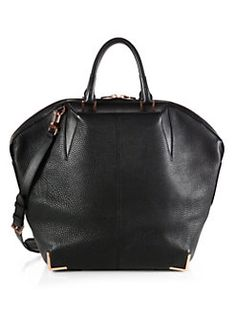 6d6f6b5d50e Alexander Wang - Large Emile Tote Rose Goldtone Studded Bag