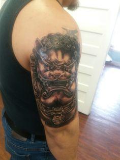 Tattoo done by Leo Fieschi