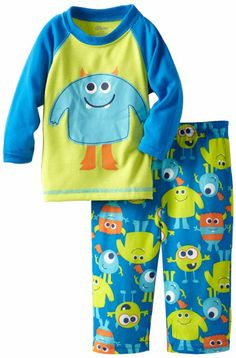 Amazon.com: Little Me Baby-boys Infant Alien 2 Piece Pajama: Clothing