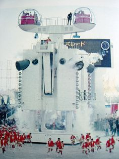 "ARATA ISOZAKI  expo 70, osaka  ROBOT ARCHITECTURE ""DE-ME"""