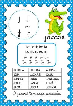 28958585_2040403382666545_7083493551870312448_o - Demonstre Portuguese Lessons, English Reading, English Words, Reading Activities, Judo, Homeschool, Clip Art, Classroom, Writing