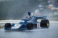 Patrick Depailler - Tyrrell 007  Nurburgring, 1974.