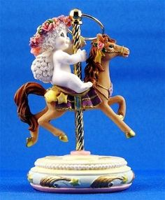 Carousel Horse - Brown Dreamsicles Item 20262