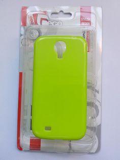 Carcasas JELLY CASE para casi cualquier modelo de móvil en el mercado y variedad de colores. Aqui en verde para Samsung S4. Silicona de calidad, cuidada presentación y precio anticrisis. En SKdualsim