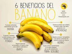Beneficios del plátano