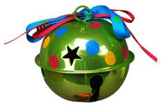 Jingle Bell ornament---use stickers; not sure on cost?