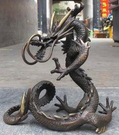 zhongxinjieshop98988 - Royal Dragon Statue Dragon Wolf, Dragon Head, Dragon Art, Asian Sculptures, Dragon Illustration, Eagle Art, Year Of The Dragon, Dragon's Lair, Dragon Statue