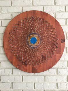 String art mandala by CraftyStarling on Etsy