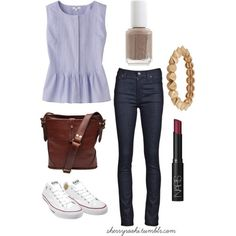 preppy fashion | Tumblr @Emma Lasky you would wear this