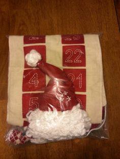 Pottery Barn Kids New Santa Advent Calendar Christmas Xmas Holiday   eBay