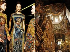 1.Dolce & Gabbana Fall-Winter 2013, Backstage 2.Kiev ,Pechersk Lavra.