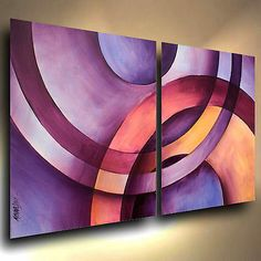 Professional quality materials were used in the creation of this art. The canvas is Gallery wrapped acid free cotton, the sides are staple free and have been painted so no decorative framing is needed to displaythem. Cubist Art, Abstract Art, Contemporary Decor, Modern Art, Original Art, Original Paintings, Art Paintings, Mural Art, Fractal Art