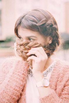 Un peinado que se ve difícil pero es muy fácil — Sevenland Viera, Braided Hairstyles, Braids, Hair Styles, Fashion, Cornrows, Hairdos, Bang Braids, Hair Plait Styles