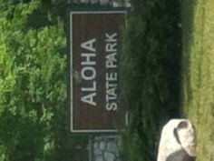 Aloha State Park, Cheboygan, Mi  It's the best campground in Michigan according to some....